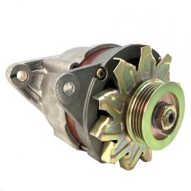 Alternador Acumulador de Corriente BOSCH para Tsuru 1, 2, 3 Motor GA8DE de 8 Válvulas con Banda Acanalada