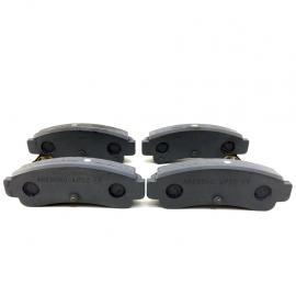 Balatas Traseras de Disco Semimetálicas para Tsuru 3 GSR 2000