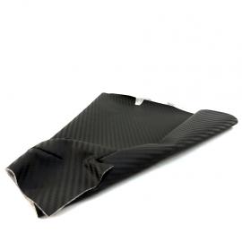 Cubrepolvo de Palanca de Velocidades Tipo Fibra de Carbono para Platina, Clio