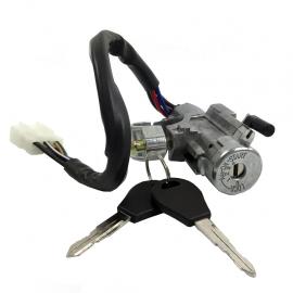 Cilindro de Switch de Arranque con Llave, Base y Pastilla de Encendido para Tsuru 3