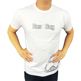 "Camiseta ""BUS & BUG"" (Blanca)"