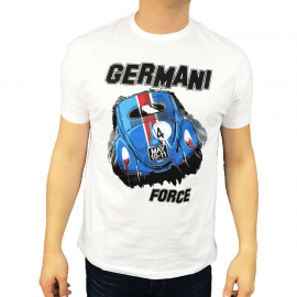 "Camiseta ""GERMANI FORCE"" (Blanca)"