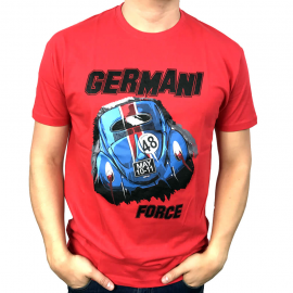 "Camiseta ""GERMANI FORCE"" (Roja)"
