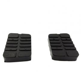 Juego de 2 Gomas Antiderrapantes de Pedal de Freno y Clutch para Tsuru 1, Tsuru 2