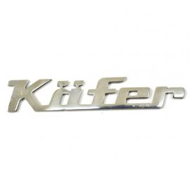 Letrero Metálico KAFFER