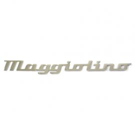 """Letrero """"MAGGIOLINO"""""""
