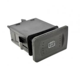 Switch de Tecla con Función Defroster Herta para Golf A4, Jetta A4, Passat B5
