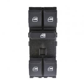 Switch de Elevadores Delantero (Conductor) para Golf A5, Bora, Passat B6