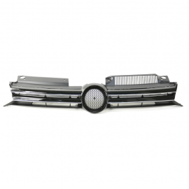 Parrilla superior para Golf Mk6 y Golf Mk6 SportWagen con Filo Cromado