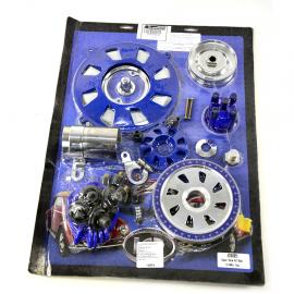 Kit para Motor 1600 (Sedan, Combi, Brasilia, Safari, Hormiga) Cromado y Azul