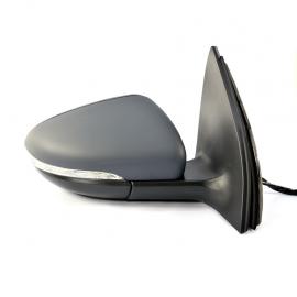 Espejo Retrovisor Eléctrico Derecho con Luz Direccional Auto Magic para Golf A6