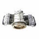 Medio Motor Restaurado Original de Carburador para VW Sedan 1600, Combi 1600, Brasilia, Safari, Hormiga