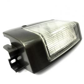 Cuarto de Parrilla Lado Derecho con Bisel Gris Techno Lamp para Pick Up D21