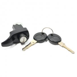 Chapa para Tapa de Motor Color Negro de 1 Tornillo HELLA para VW Sedan 1600, 1600i