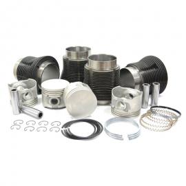 Conjunto de Motor MORESA con Pistones CONVEXOS para VW Sedan 1600i