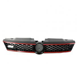 Parrilla Tipo Panal con Linea Roja Auto Magic para Jetta A6 GLI