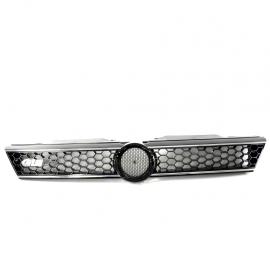 Parrilla Tipo Panal sin Emblema con Moldura y Letrero GLI Cromado Auto Magic para Jetta Mk6