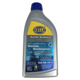 Botella de Aceite de Motor Hella Sintético SAE 5W-30