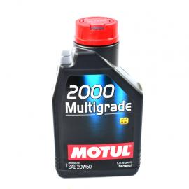 Botella de aceite MOtul 20W-50 mineral