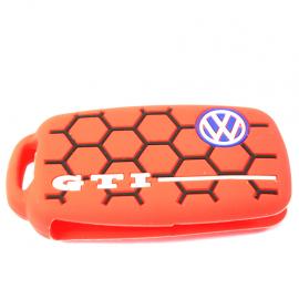 Funda protectora de silicón estilo GTI para llave con control remoto.