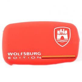 Funda protectora de silicón estilo Wolfburg para llave con control remoto