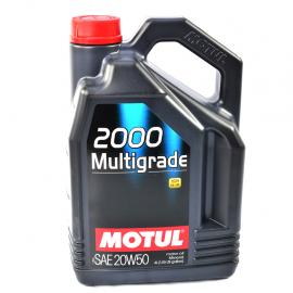 Garrafa de aceite mineral 20W-50 MOTUL