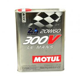 Lata de aceite Motul 300V Le Mans 20W-60 sintetico