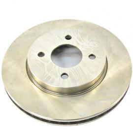 Disco de freno ventilado de ruedas delanteras para Versa