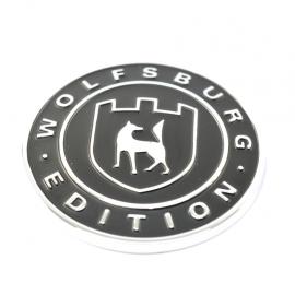 Emblema adherible WOLFSBURG EDITION para vehículos Volkswagen