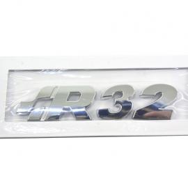 Letrero  emblema de la versión R32 para modelos importados de Golf A4