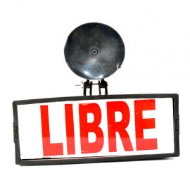 Bandera indicadora con luz para Taxi