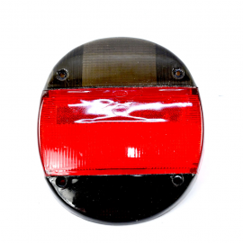 Mica de calavera Ahumada con Rojo para V.W. Sedan 1600, 1600i