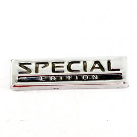 Letrero Cromado adherible de Salpicadera Special Edition para Vehículos Nissan