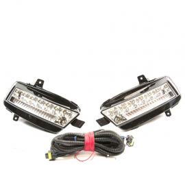 Juego de faros Antiniebla de LED para Golf A7