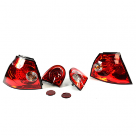 Juego de calaveras LED para Golf A5, GTI