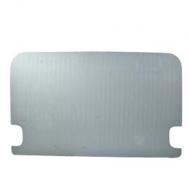 Tapa de puerta Corrediza color Gris con orificios para Combi