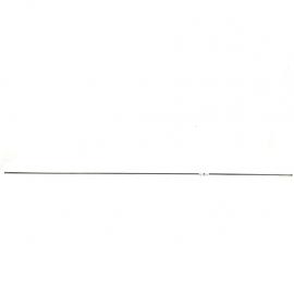 Tubo de frenos de 103 Centímetros con terminales roscadas para Tsuru 1,2,3