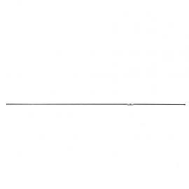 Tubo de frenos de 180 Centímetros de línea Intermedia con terminales roscadas para Tsuru 1,2,3