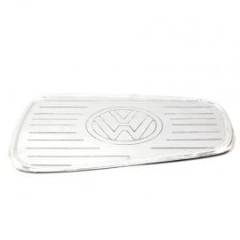 Mascara metálica de tapa de gasolina con emblema para VW Sedan 1600, 1600i