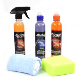 Kit de Productos AKRON de Limpieza y Embellecimiento para Carrocería