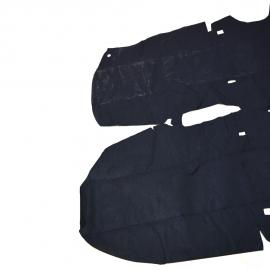Alfombra de Piso Color Negro para Sentra B14, B15