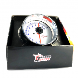 Tacómetro Universal de 3.7 Pulgadas Con Caratula Luminosa.
