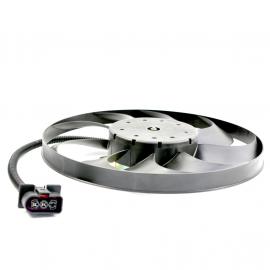 Motoventilador de Radiador de Motor con Aspas Secundario para Polo 9N, Lupo