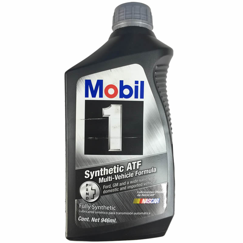 botella de aceite de transmision automatica mobil sintetico atf refaccionaria mario