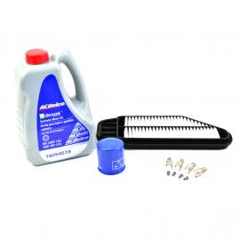 Kit de Afinación AC Delco con Cambio de Aceite para Spark Motor 1.2L
