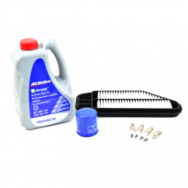 Kit de Afinación con Cambio de Aceite AC Delco para Spark 1.2L