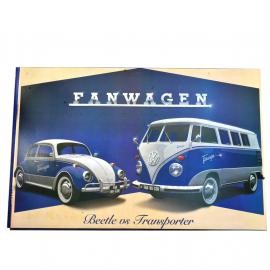 Cuadro Decorativo con la Imagen de Beetle VS Transporter Tamaño Extra Grande