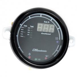 Velocímetro Digital con Lectores Luminosos de Carátula Negra para VW Sedán 1600, Combi 1600, Hormiga, Safari, Brasilia