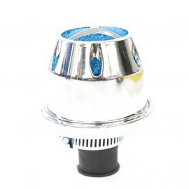 Filtro de Aire de Respiración CROMADO de Boca de Relleno para VW Sedan, Combi 1600, Brasilia, Safari