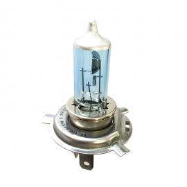 FocoTipo Xenón H4 de 60/55 Watts con Luz de Alta y Baja Hella Clear Blue